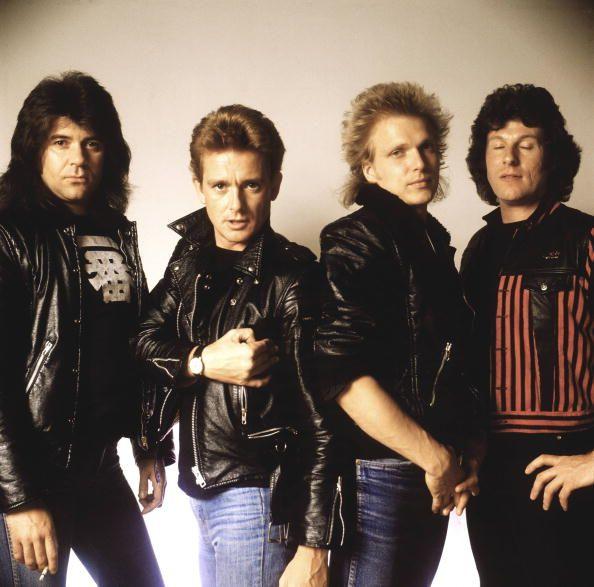 MSG 1982, Chris Glen, Graham Bonnet, Michael Schenker and Ted McKenna