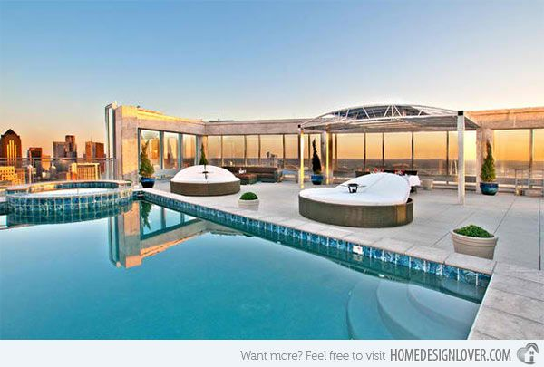 Best 25 rooftop pool ideas on pinterest - Extraordinary and relaxing rooftop pools ideas ...
