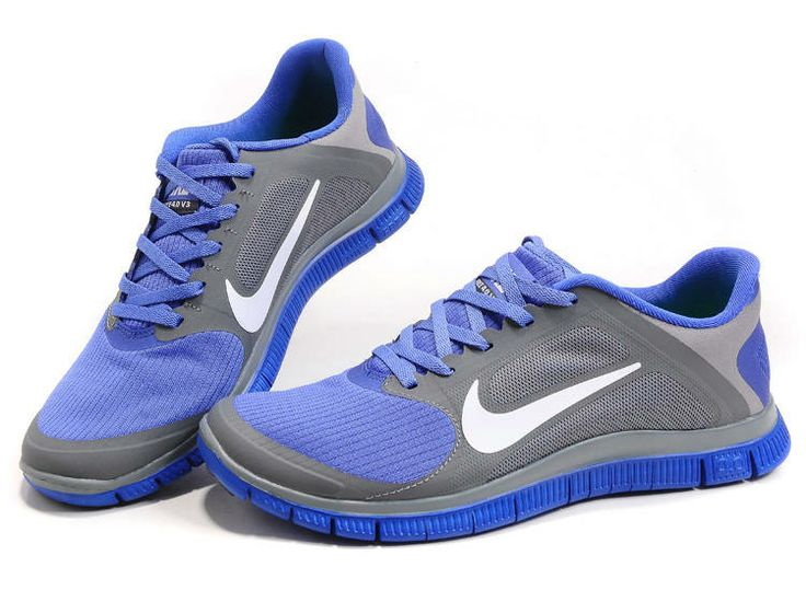 Nike Free Mens Grey Violet 2013 New Design