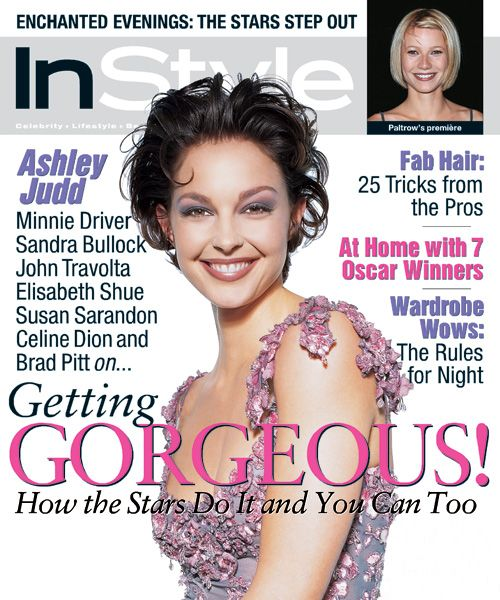 InStyle Magazine Covers: 1998 - April, Ashley Judd from #InStyle
