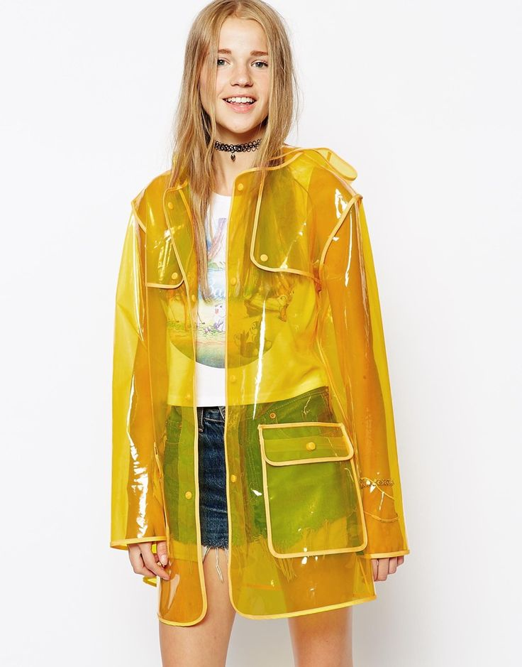 ASOS Clear Rain Mac