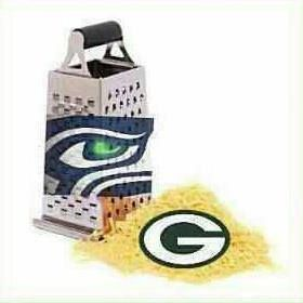 Seahawks are gonna grate some cheese in this years 1st NFL game tomorrow night!!! Via Galen McElroy ... :D