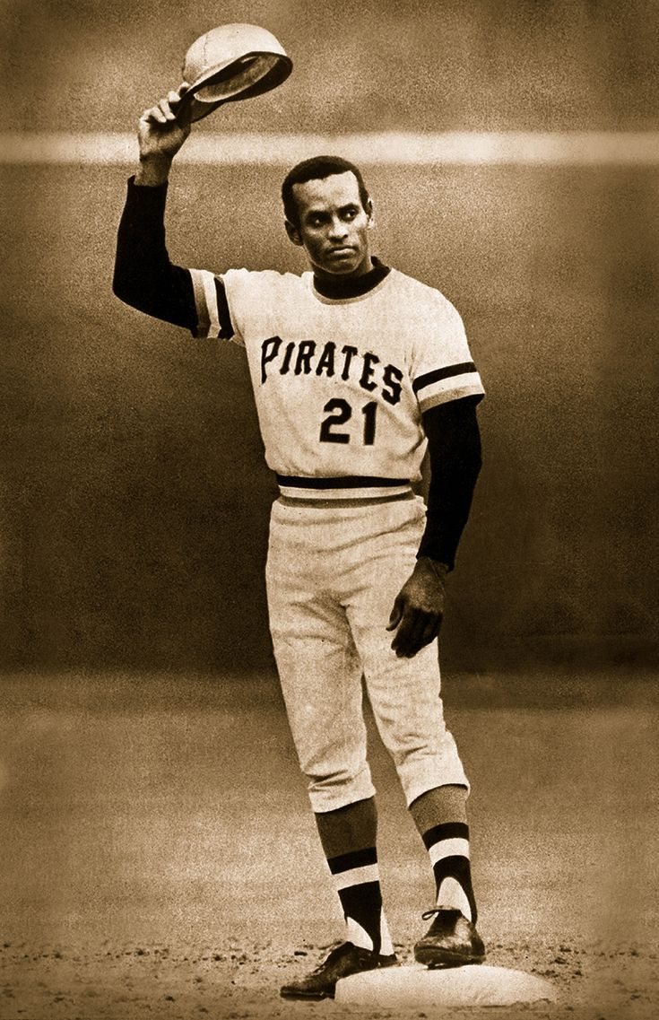 Roberto Clemente - Pittsburgh Pirates - Hit #3000