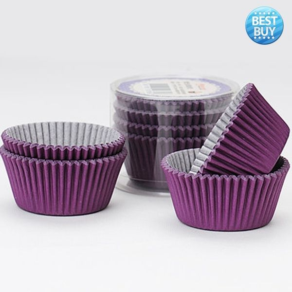Best 100pcs Paper Cake Cupcake Liner Case Wrapper Muffin Baking