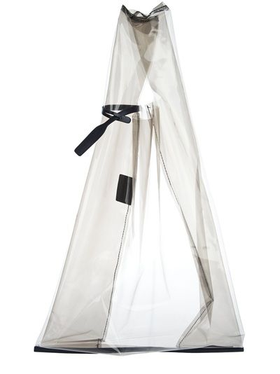 Jil Sander transparent shopper