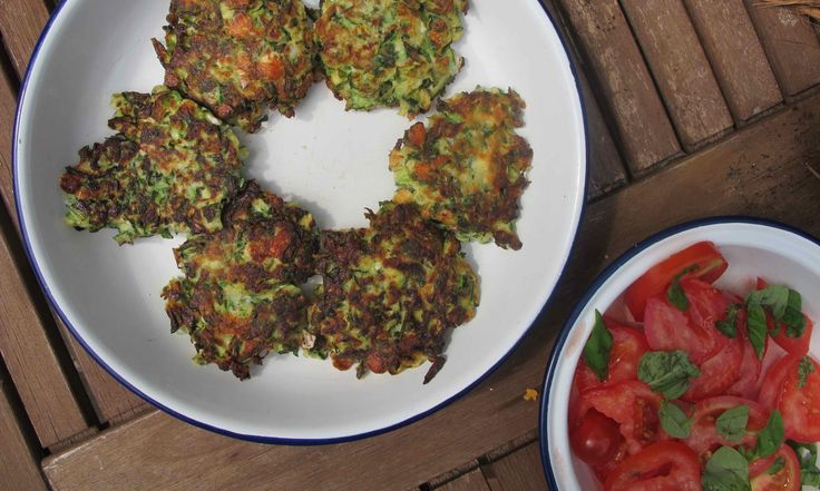 How to cook the perfect courgette fritters