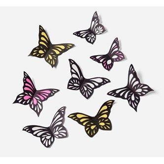 Enkla pappersfjärilar