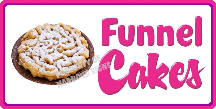 Funnel cake decal 24 concession food truck restaurant