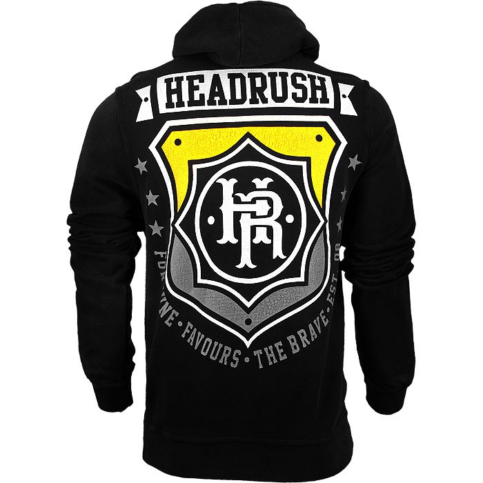 Headrush Chosen Few Badge Zip Hoodie - MMAWarehouse.com - MMA Gear, MMA Clothing, MMA Shorts, MMA Gloves, MMA Shirts and more!