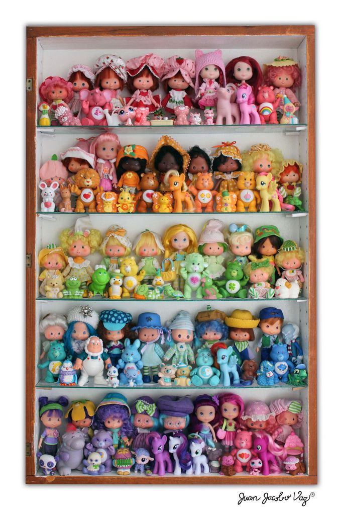 Rare Toys From The 80s : Yes care bears and my little ponies are mixed in but can