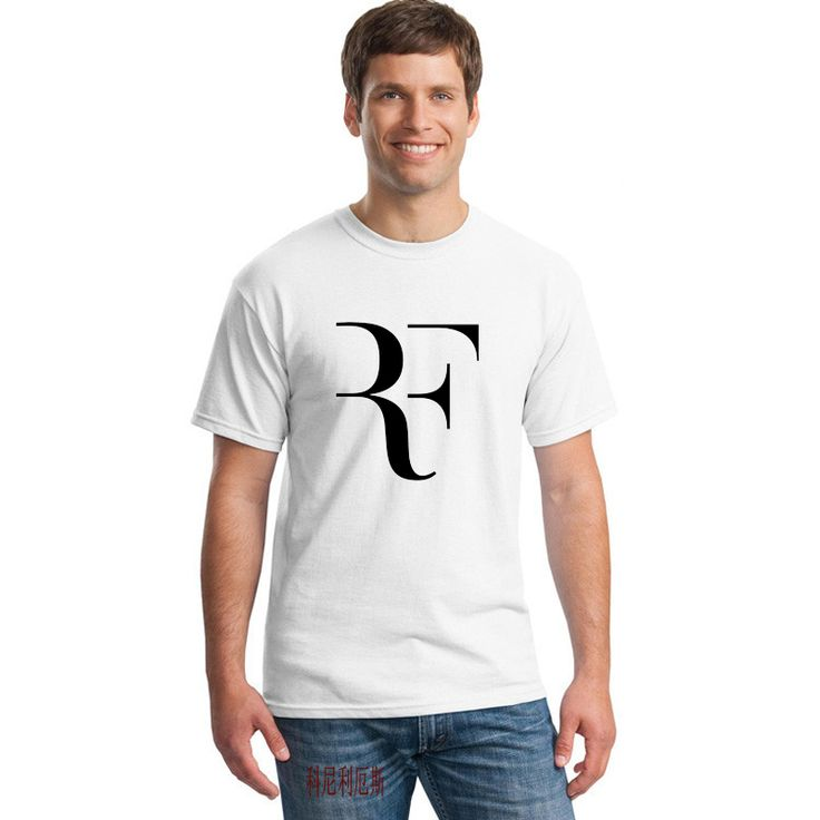 >> Click to Buy << Free Shipping Roger Federer T Shirt RF Tshirt Roger Federer RF T-shirt  RF T Shirts Brand Cotton cotton Shirt F Print  #Affiliate