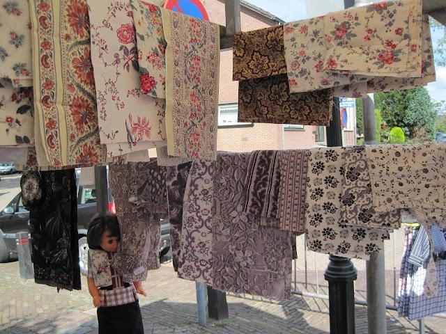 I need these fabrics! - Spakenburger stofjes voor kraplappen