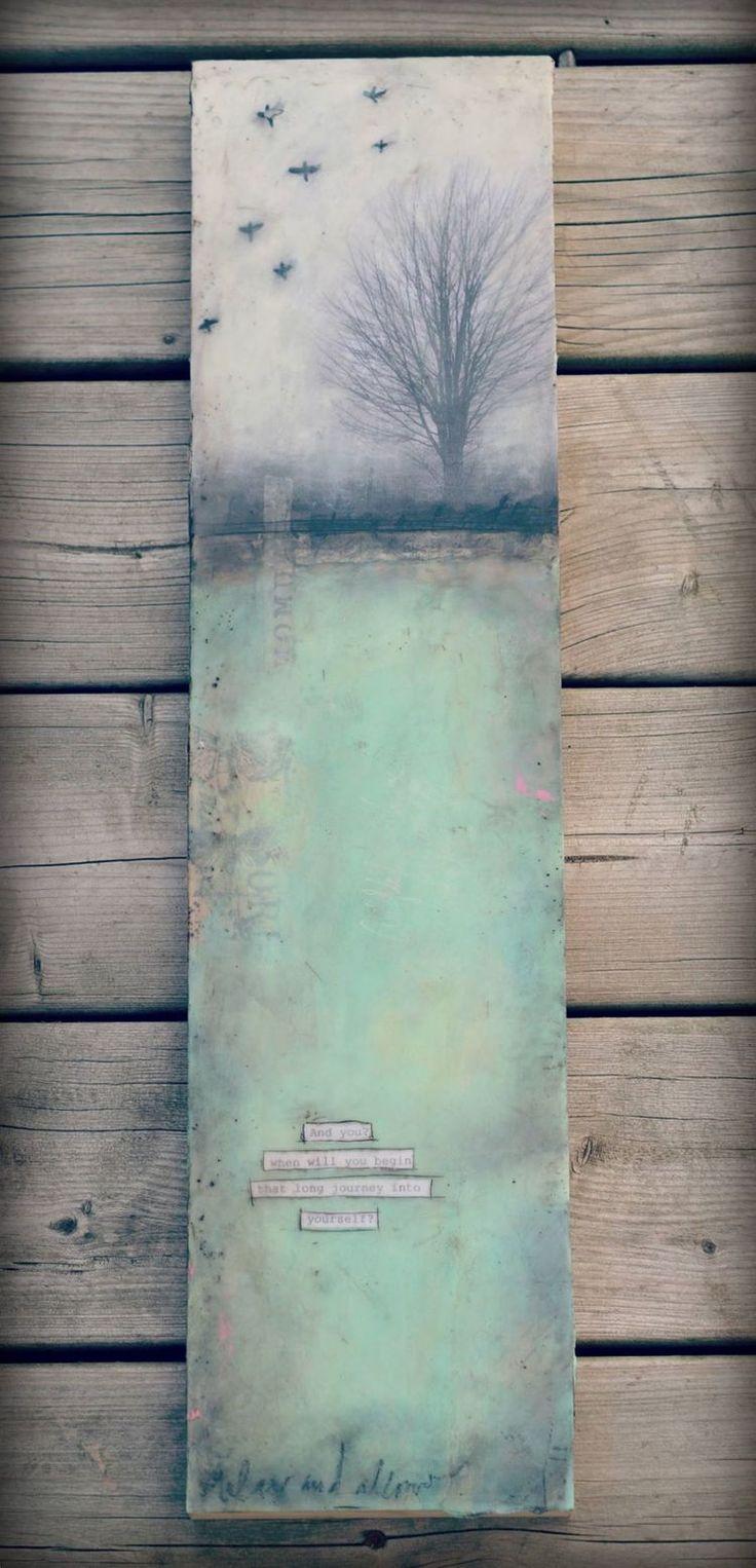encaustic, encaustic painting, ivy newport
