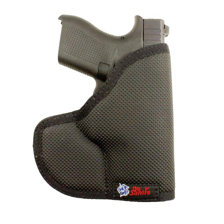 DeSantis Nemesis Glock 42 Holster - Black Ambidextrous