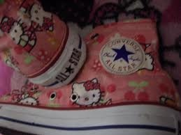 Hello Kitty Converse!--- need these for zoeys 1st birthday outfit!!!