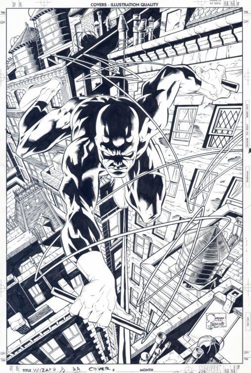Joe Quesada's Daredevil.
