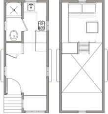 Best Small Cabin Floor Plans Images On Pinterest Small Houses