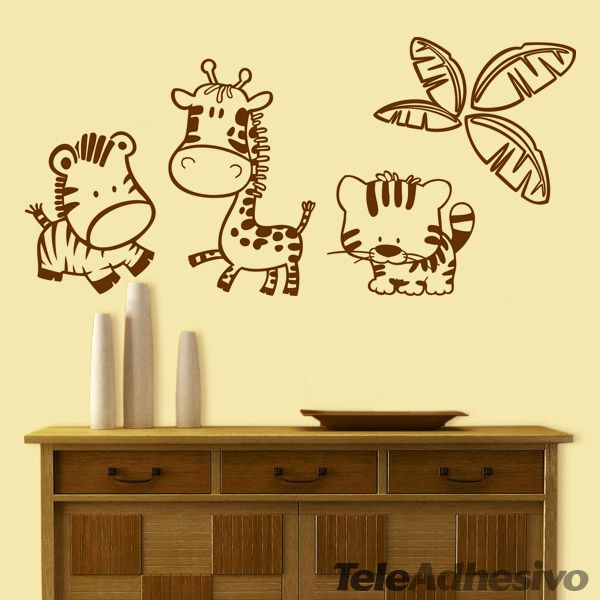 25 best ideas about caricaturas de animales on pinterest - Decoracion de habitaciones infantiles para ninos ...