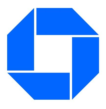 Chermayeff and Geismar Associates -  Chase Bank logo