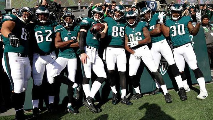 Nick Foles doesnt have to be the reason the Eagles win. He just cant be the reason they lose. - Ike Reese LIKE & comment on Ikes post in the #Eagles forum to win an autographed photo and be entered to win tickets to #SuperBowl52 and the #ProBowl  Link in bio      #eagles #philadelphiaeagles #philadelphia #flyeaglesfly #nfl #nflfans #nflplayer #nflfanatic #nflfootball #football #sports #win #contest #winnow #ATLvsPHI