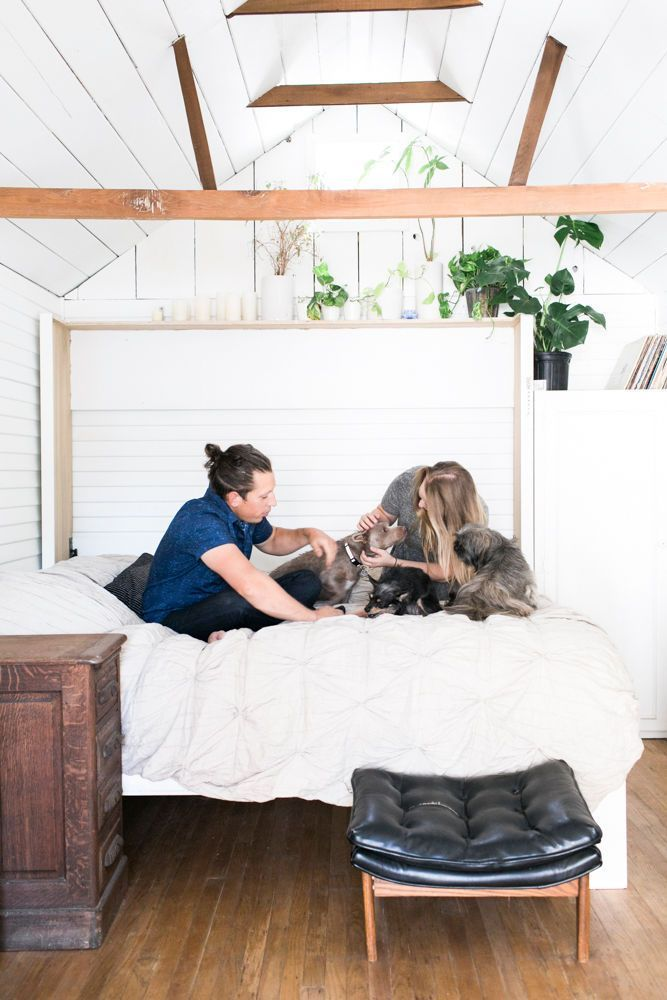 The Bitty Berkeley Bungalow designed by A & B Creative- Murphy Bed