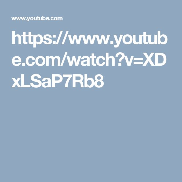 https://www.youtube.com/watch?v=XDxLSaP7Rb8