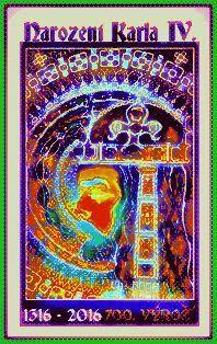 KAREL IV, 11Král Český , Perokresba, formát A1, černý karton, bílá tuš KOH-I-NOOR, bílý pastel FABER-CASTELL, barva stříbrná+zlatá Autor: Johana Hájková 6/7/2016 Foto: Digi upraveno