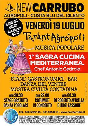 TarantAgropoli, musica popolare – New Carrubo - http://www.portarosa.it/tarantagropoli-musica-popolare-new-carrubo.html #cilento #agropoli #newcarrubo #disco #rotumbe