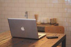 Macbook, Notebook, Home Office