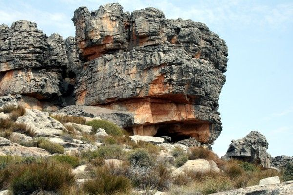 Cederberg Names    Apex Cave