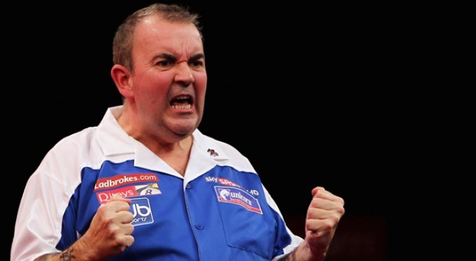 Phil 'The Power' Taylor - The greatest darts player of all time.  http://champions-speakers.co.uk/speakers/darts-sports/phil-power-taylor #Darts