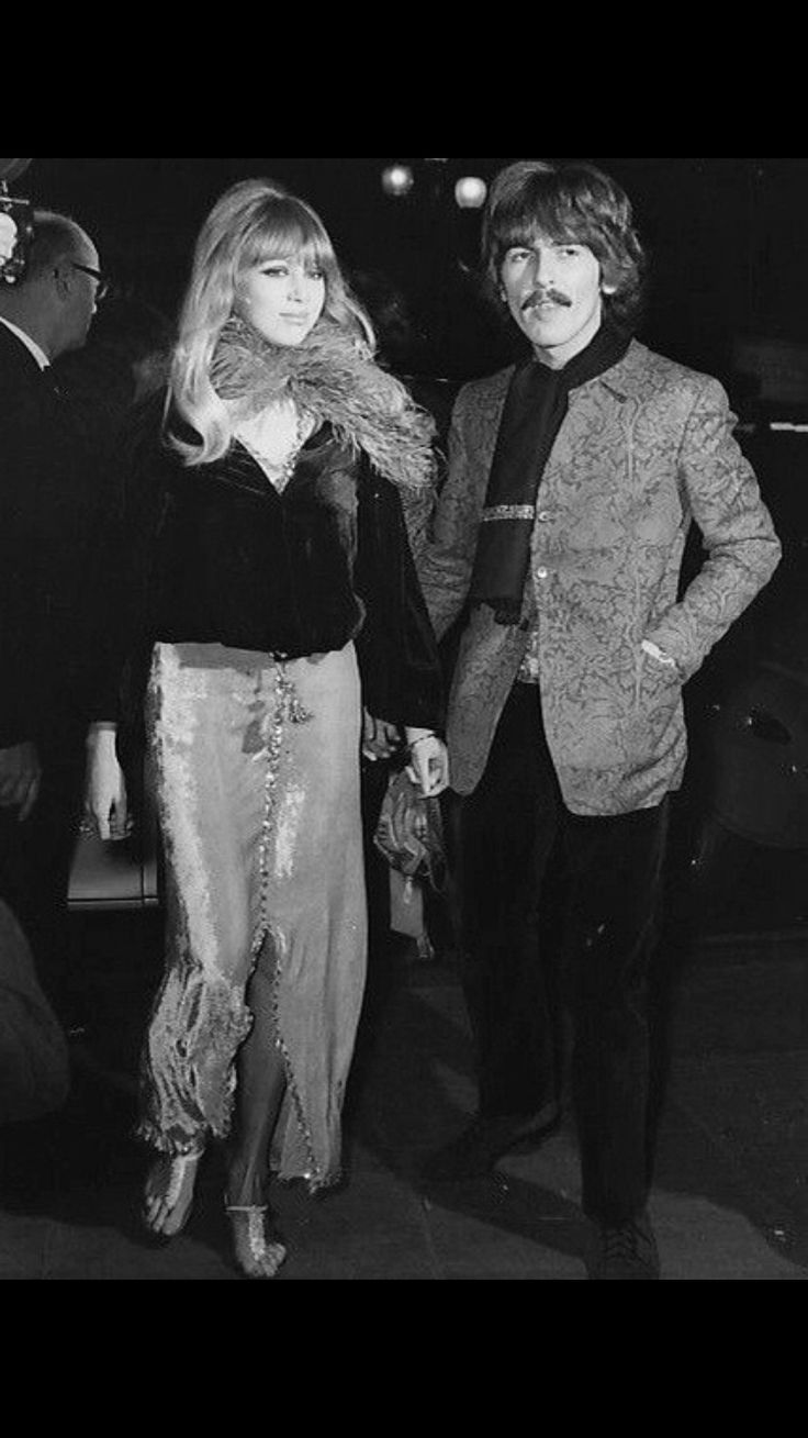 George Harrison and Patty Boyd...our very own Helen of Troy
