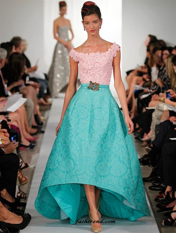 Oscar de la Renta - 2013 OMG LOVE LOVE LOVE.  I'm in LOVE. I saw this today at the Whyn, and it was absolutely stunning.