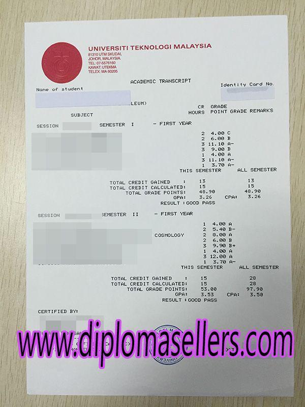 Technological University of Malaysia transcript, order fake UTM - 2 1 degree