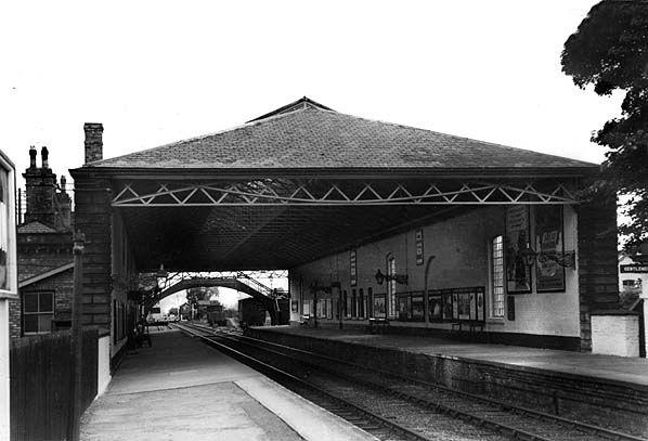 Pocklington station1950s