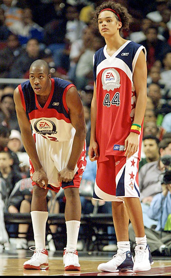 Dwight Howard & Joakim Noah in high school