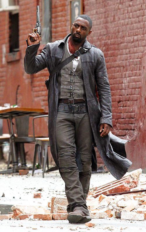 Anna the Crow - shadowoftheforce:    Idris Elba on set of The Dark...