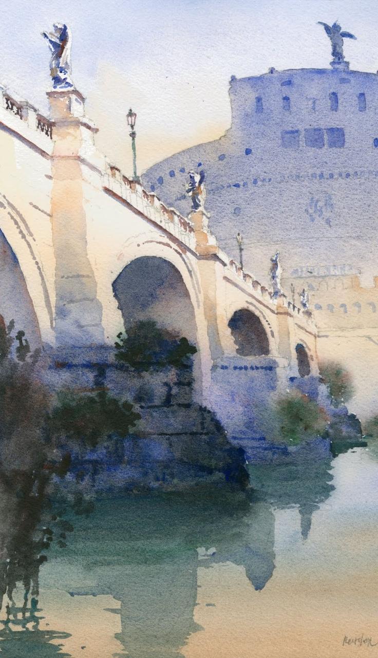 Ponte Sant'Angelo, Michael Reardon
