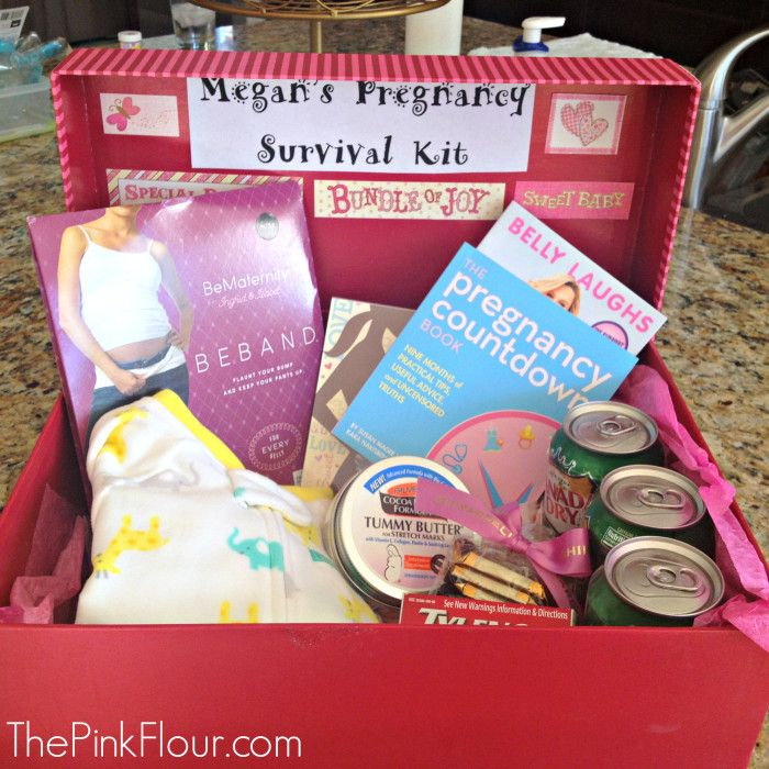 Pregnancy Survival Kit - a great gift for expectant mothers