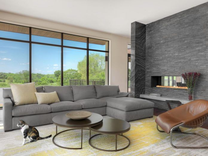 Californian lifestyle brought to this 11,000 square foot St. Louis home by Mitchell Wall - CAANdesign | Architecture and home design blog