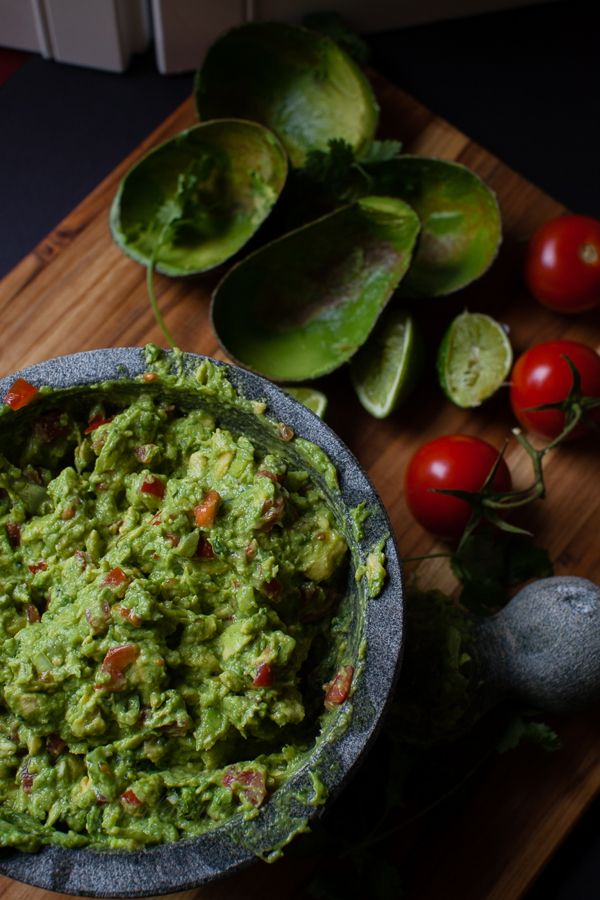 The Best Basic Guacamole Recipe — Dishmaps