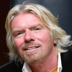 Richard Branson - The founder and president of Virgin Group. Virgin is one of the world's most recognised and respected brands with more than 200 companies worldwide.