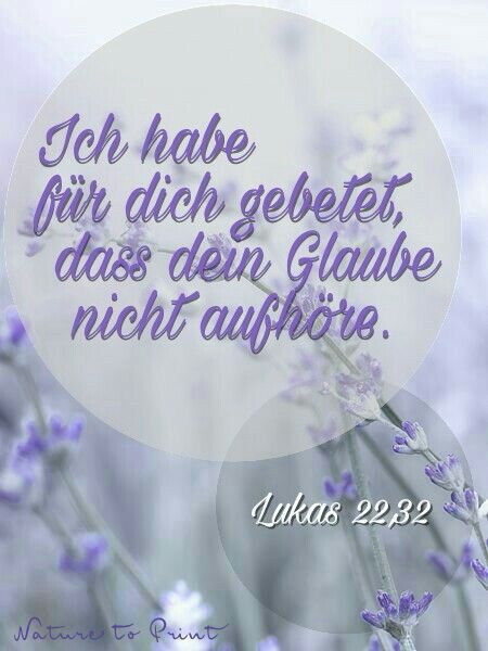 Lukas 22;32