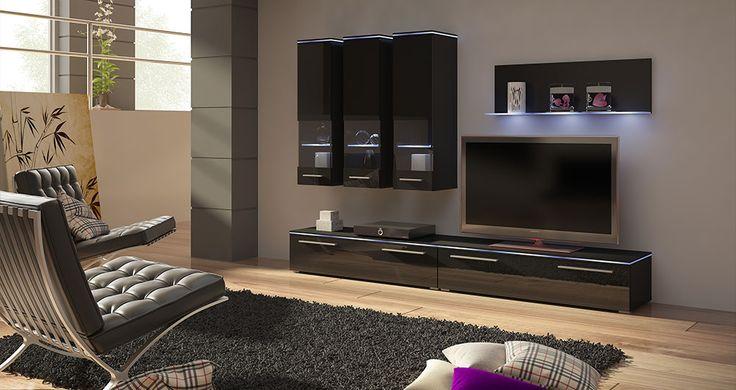 Szafki RTV nowoczesne #nowoczesnemeble #mebledosalonu #meble #minimalistycznemeble #mebleniemieckie #dom #aranzacjedom #aranzacje