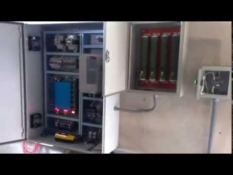 Repotenciación de ascensor antiguo, nuevo tablero con variador de frecuencia Yaskawa L1000. - YouTube