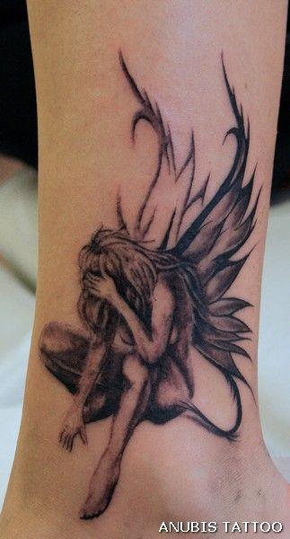 sad fairy by Anubis-osijek on DeviantArt
