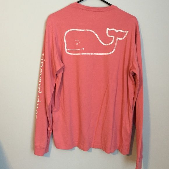 Vineyard Vines Shirt This is a MEN'S small. Worn once, no flaws, just too big. Still have the tags for it. Would only trade for a Men's X-Small in a color that I like and in EQUAL condition. Would rather trade than sell so the price is high for a reason. Vineyard Vines Tops Tees - Long Sleeve