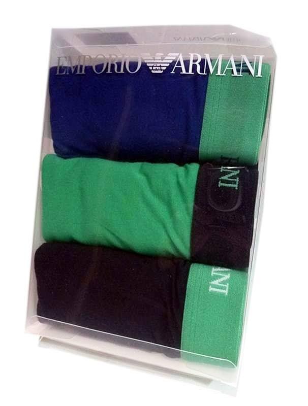 Pack de 3 calzoncillos boxers Emporio Armani