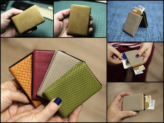 Mens Wallet Minimalist Wallet Womens Wallet Leather Wallet