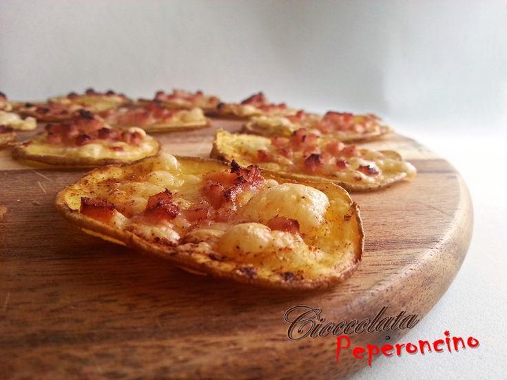 Pizzette di patate croccanti